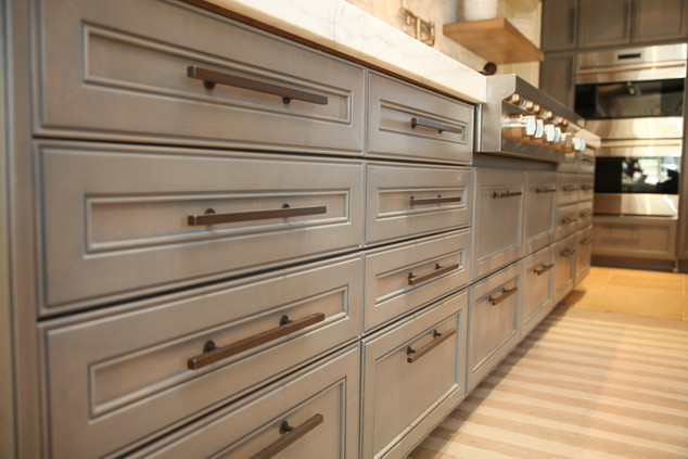 Transitional Kitchen Cabinetry