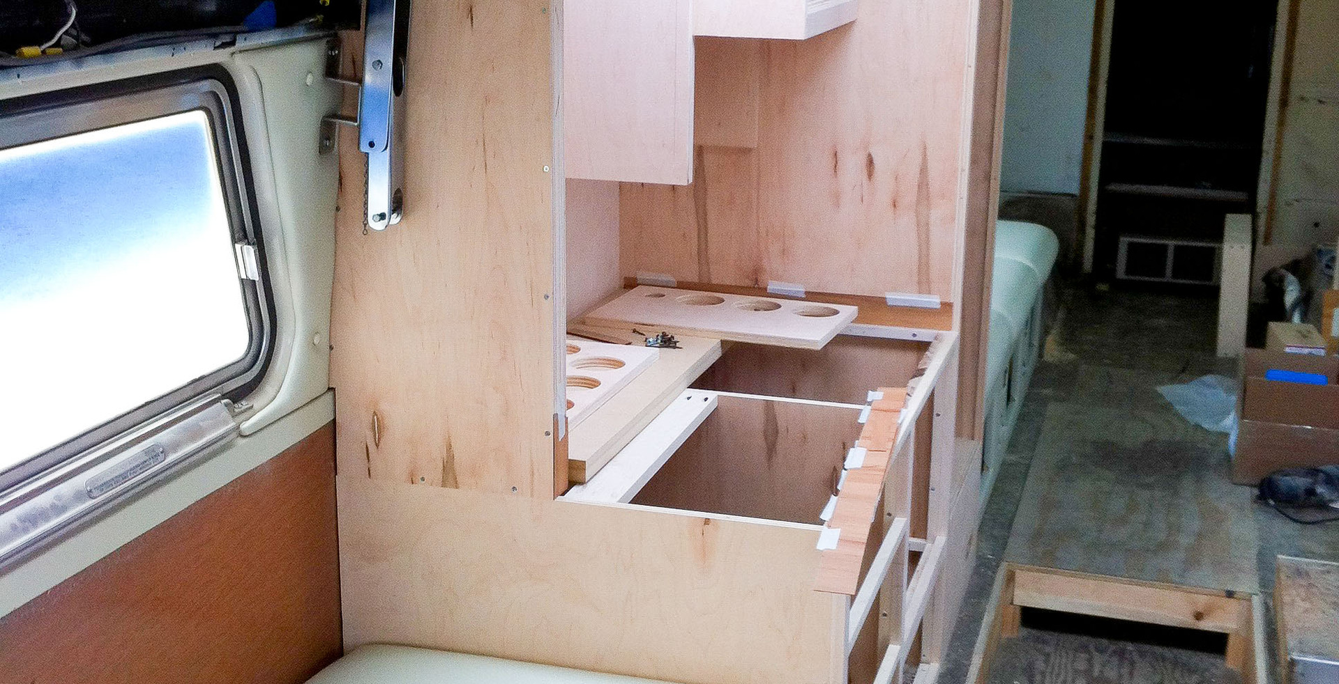 Airstream Cabinetry - In Progress