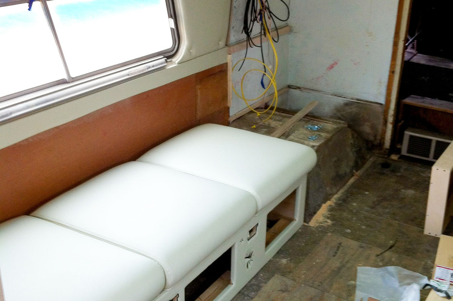 Airstream Cabinetry - BEFORE