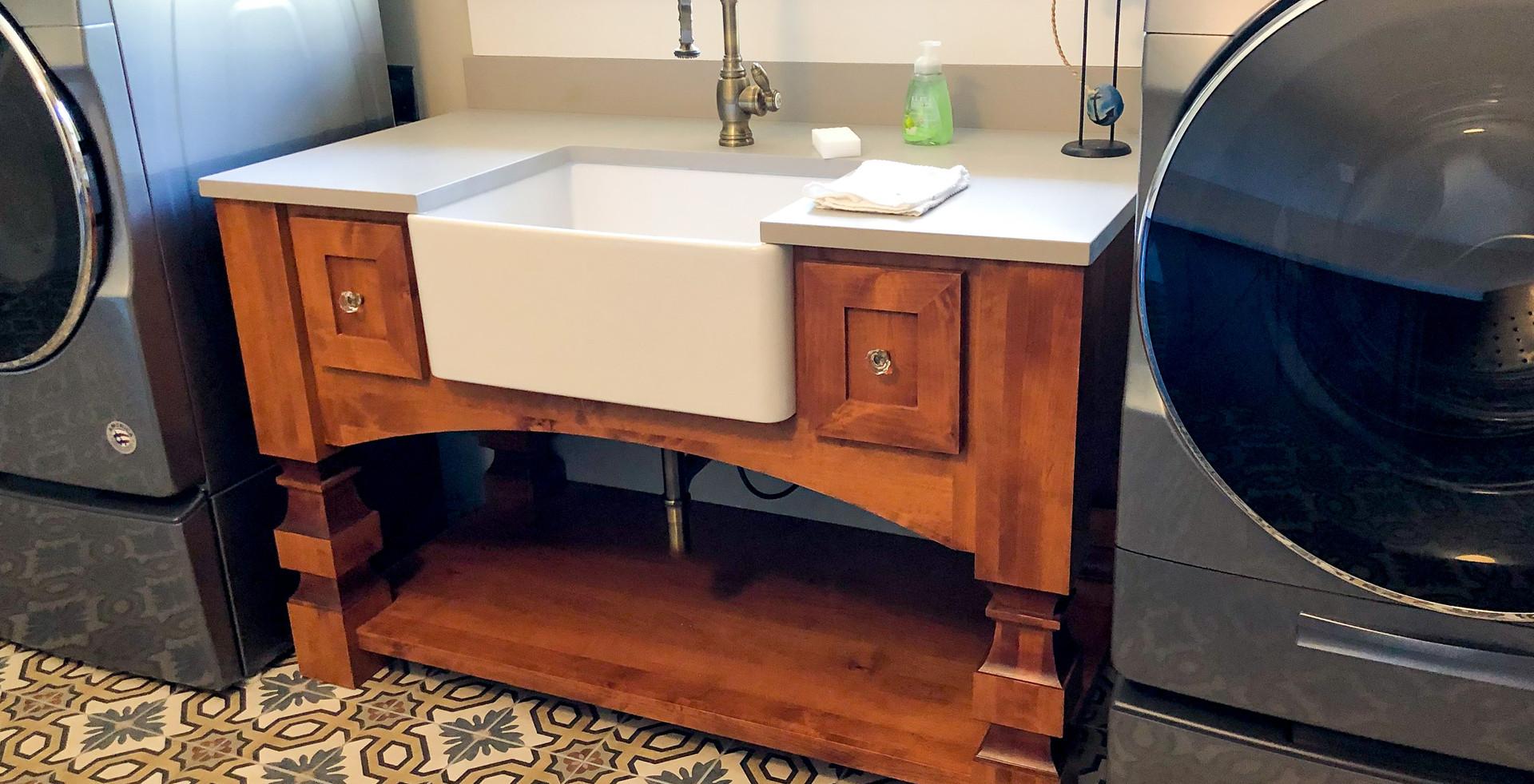 Sullivan's Laundry Room Cabinetry