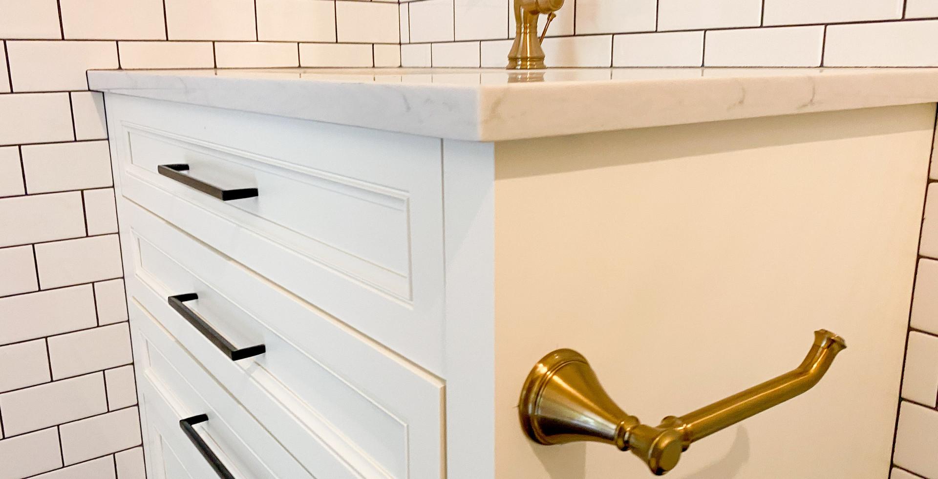 Midtown Tulsa House - Guest Bath Vanity