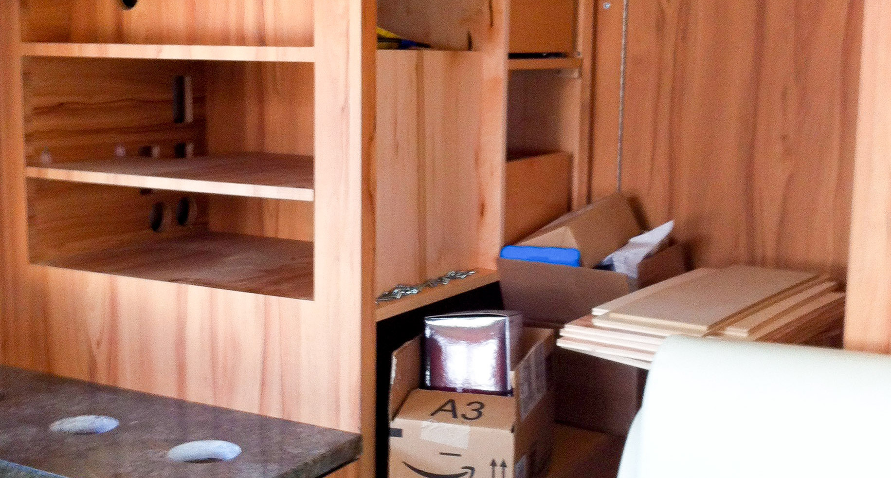 Airstream Cabinetry