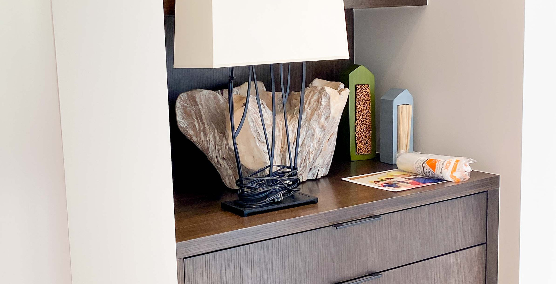 modern cabinetry nook