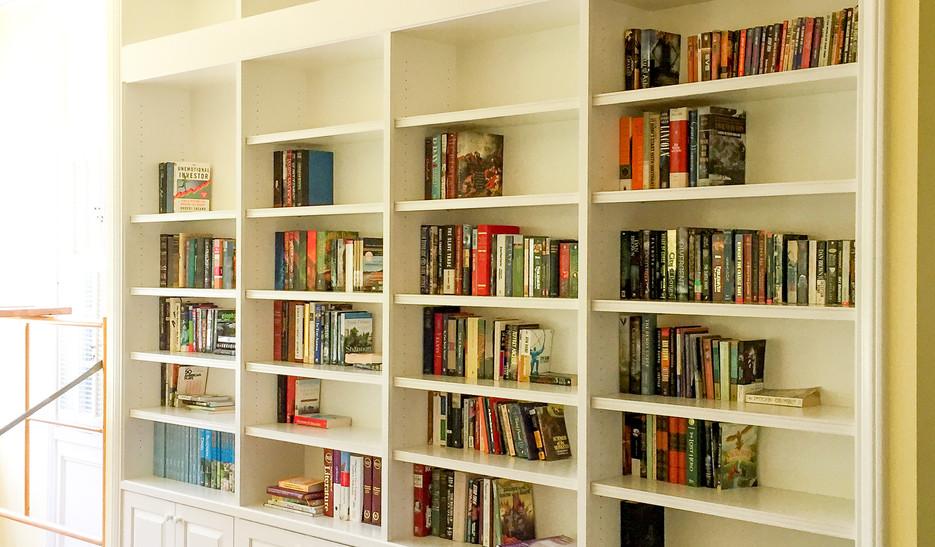 Sullivan's Custom Book Shelf