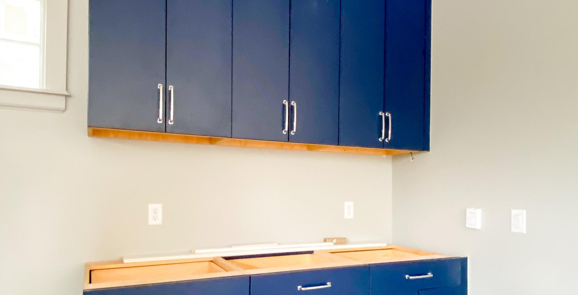Midtown Tulsa House - Garage Cabinets