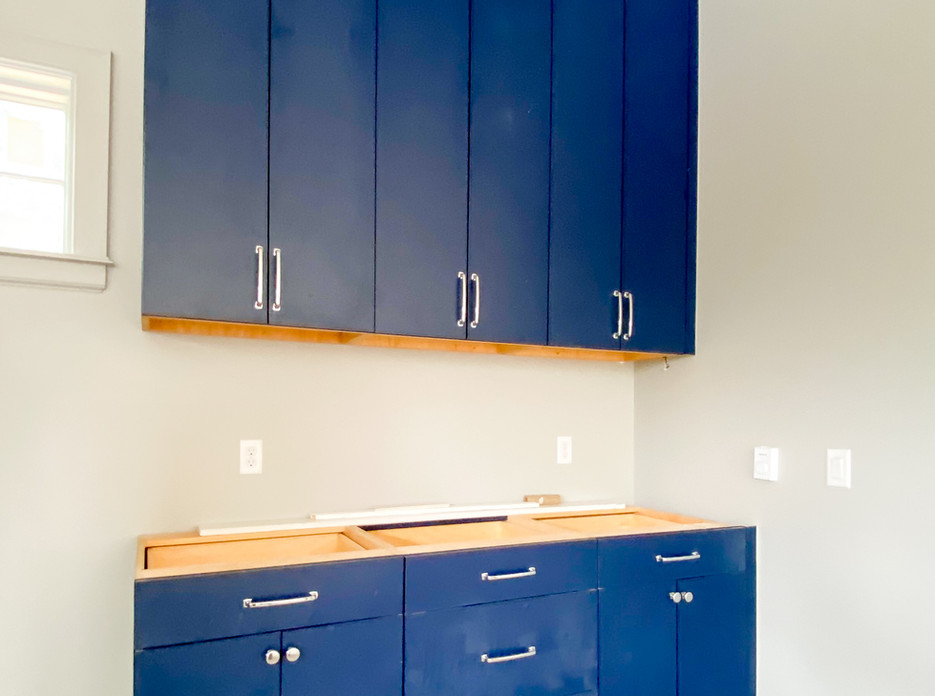 Midtown Tulsa House - Garage Cabinets