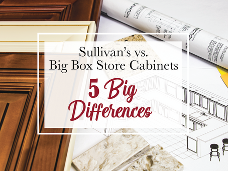 Sullivan's vs. Big Box Store Cabinets - 5 BIG Differences!
