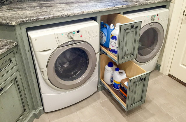 Laundry Room pull-outs