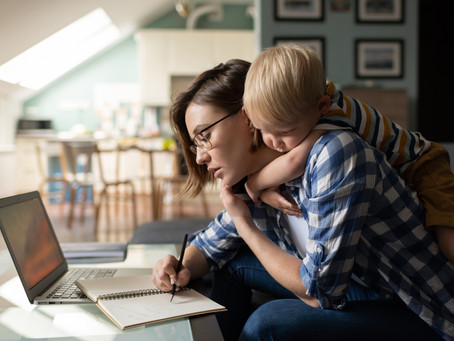 Tips for Parents for Working at Home
