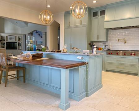 Transitional Kitchen Cabinetry ADA