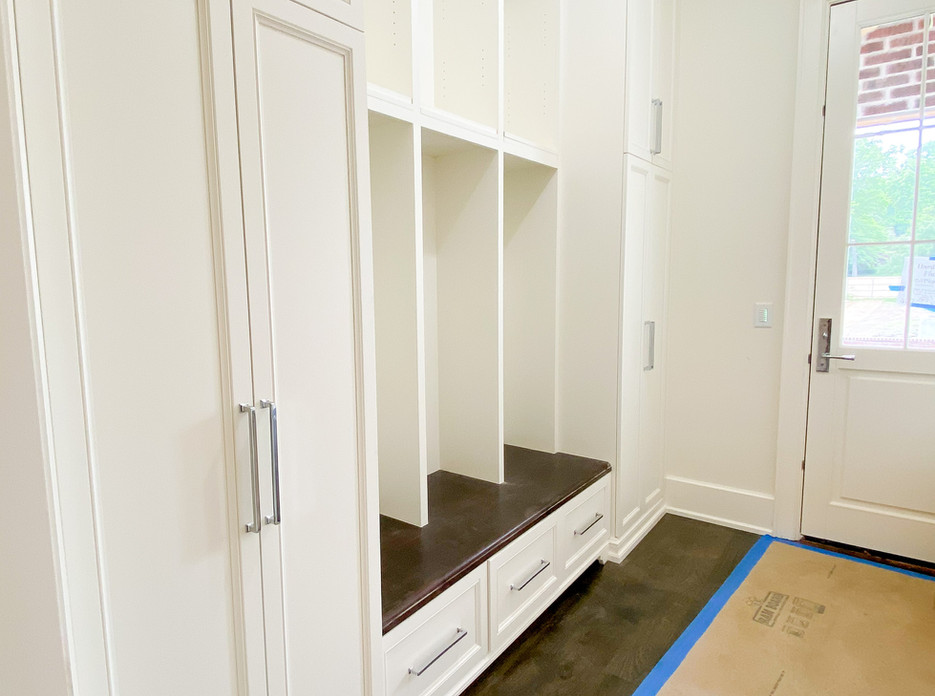 Midtown Tulsa House - Mudroom