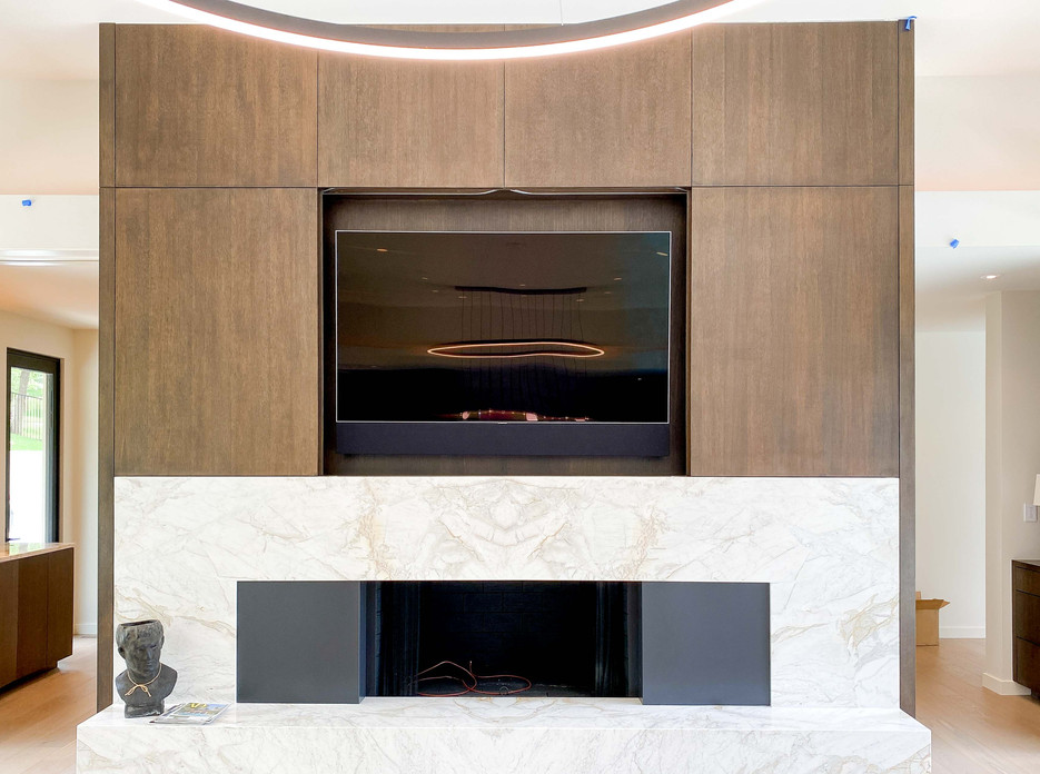 modern contemporary cabinetry TV cabinet