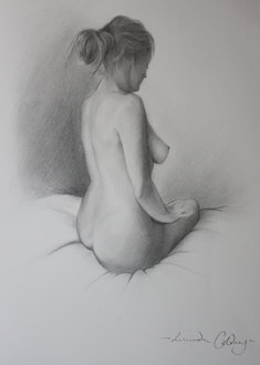 A private commission pencil on paper