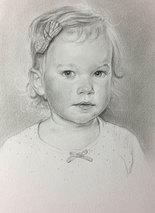 Alice - pencil on paper