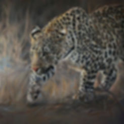 #fineartprints #leopardprint #oilpaintin