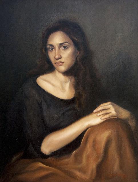 Sylvia - oil on canvas