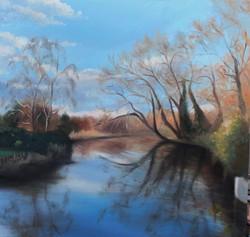 Autumn light on the river.