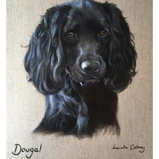 Dougle - Oil on canvas