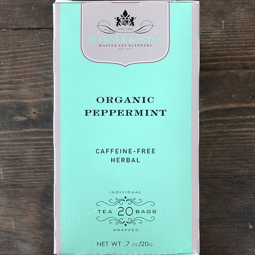Tea Bags, Organic Peppermint - Harney&Sons