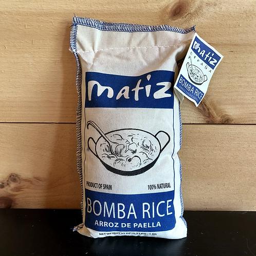 Rice, Bomba