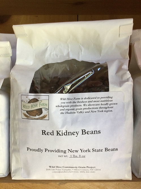 Beans, Red Kidney - Wild Hive Farm