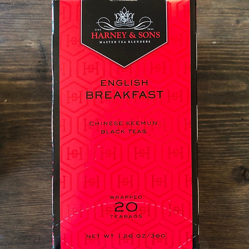 Tea Bags, English Breakfast - Harney&Sons