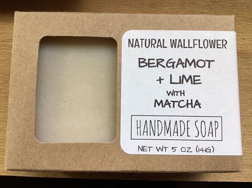 Soap, Bergamont, Lime + Matcha