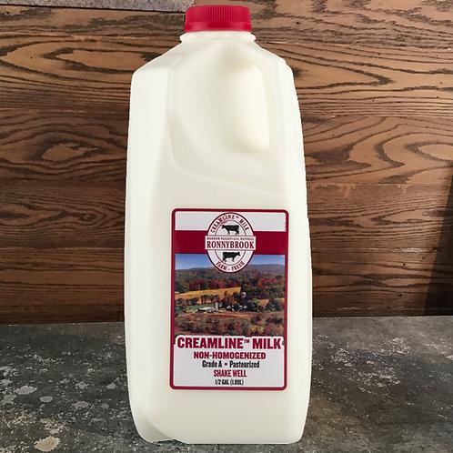Milk, Creamline - Ronnybrook Farm