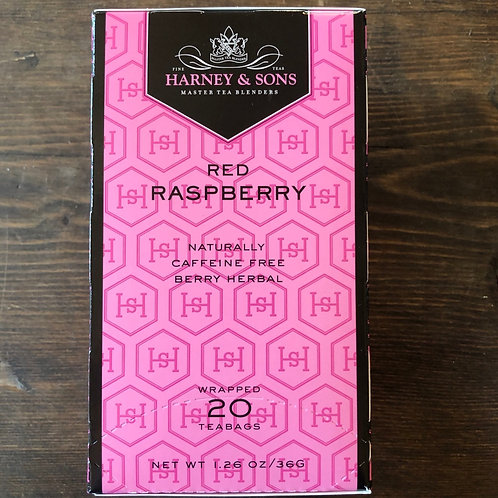 Tea Bags, Red Raspberry - Harney&Sons