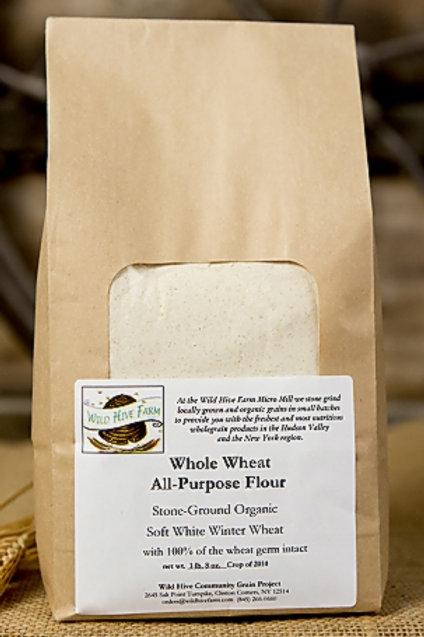 All Purpose Flour, Whole Wheat - Wild Hive Farm