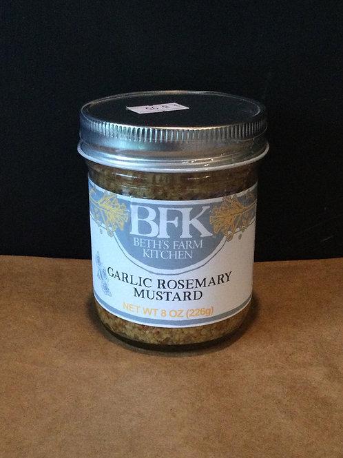 Mustard, Garlic Rosemary