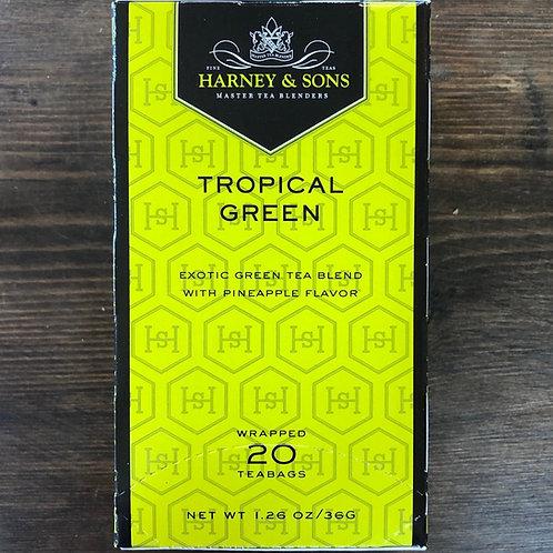 Tea Bags, Tropical Green - Harney & Sons