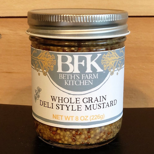 Whole Grain Deli Style Mustard - Beth's Farm Kitchen