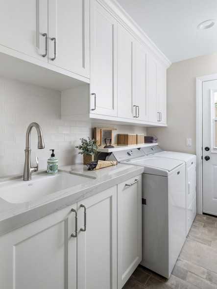 Classically Appointed: Laundry Room