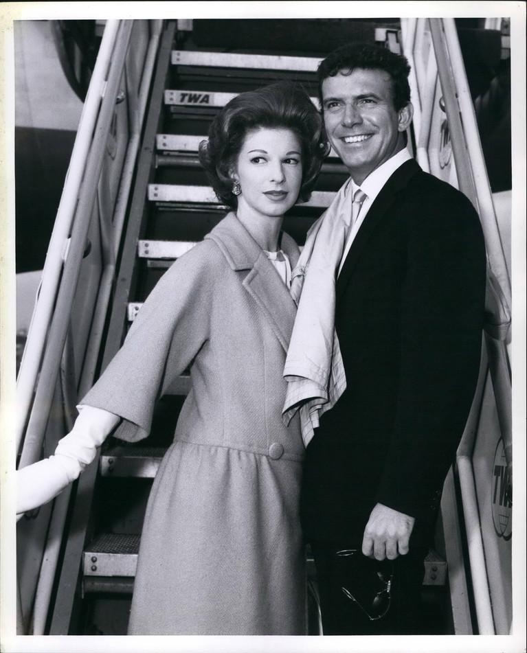 Judith Balaban & Tony Franciosa