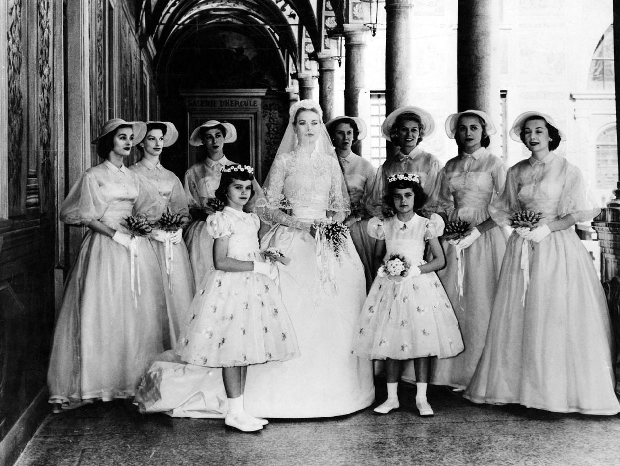 Grace Kelly & Bridesmaids