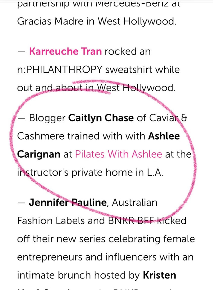 US Weekly Mention!