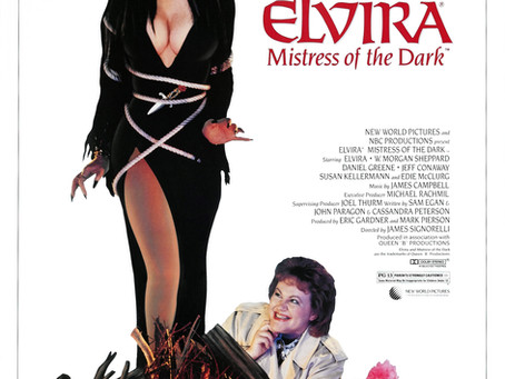 Halloween Moviefest 2020 – Movie #7 -Elvira: Mistress of the Dark