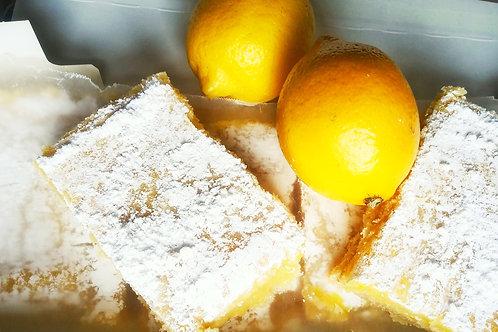 Lemon bars and brownies