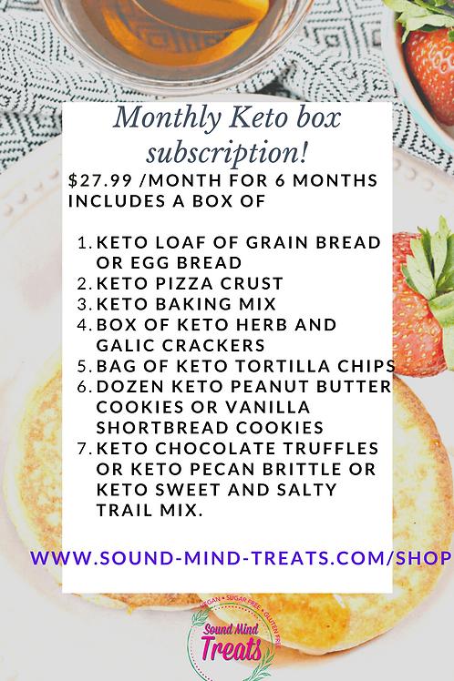 Keto bread and snack box!