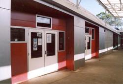 Rocket red west doors from NW.jpg