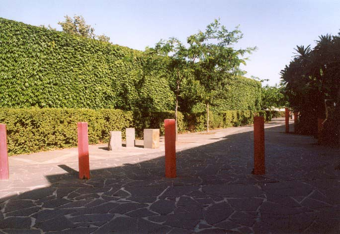 Landscaping to west of pool building.jpg