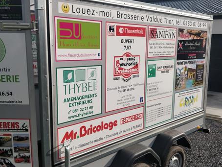 Notre Food-Truck dans vos communes