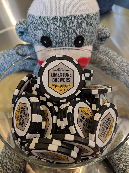 Redeemable Magnetic Poker Chips