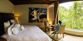 Luxury King Bed Cabin