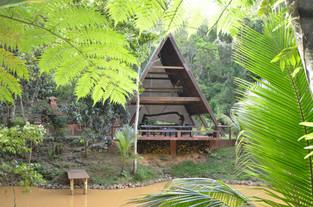 Pond Area - Bali Structure