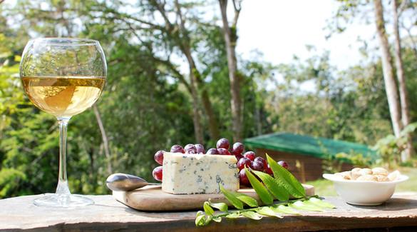 Cheese Plate & Wine