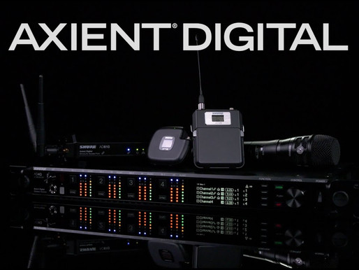 Shure presenta Axient Digital.