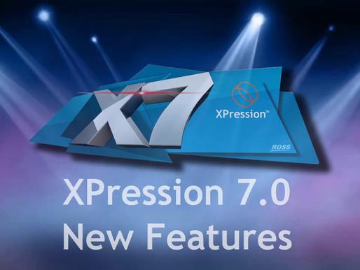 Nueva versión de Xpression de Ross Video.