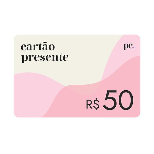 Vale Presente • R$50